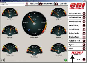 MEDS 8.0 Dashboard w-MCheck (Snagit)